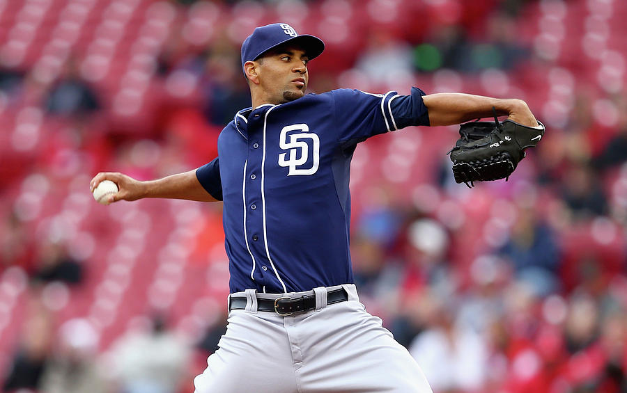 Tyson Ross Photograph by Andy Lyons