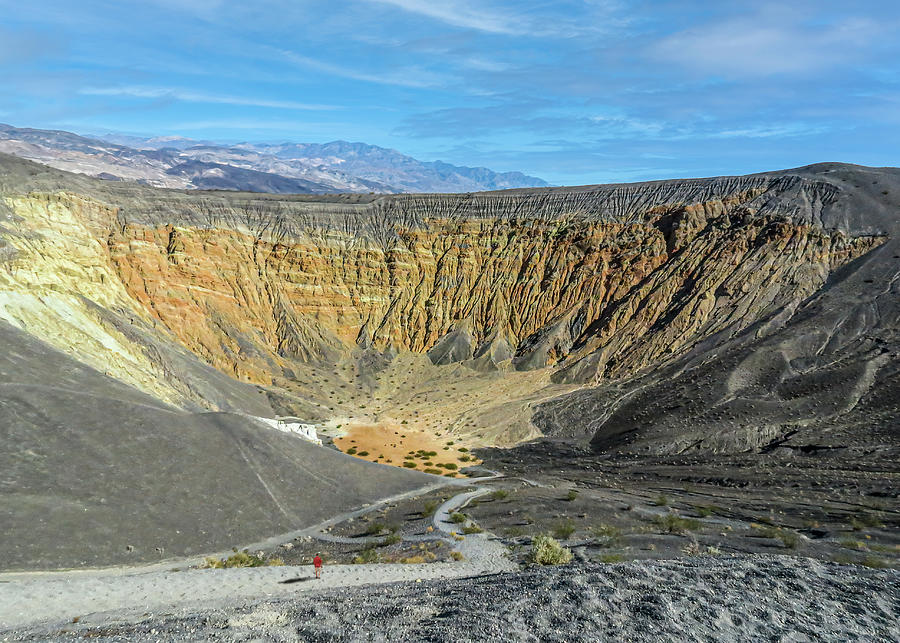 Ubehebe Crater, Death Valley Photograph