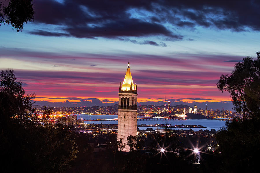 Uc Berkeley, Holiday Time Photograph by Vincent James