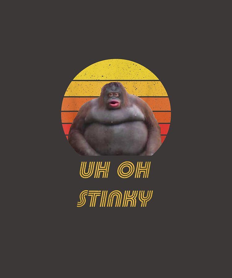 Uh Oh Stinky Gorilla Meme | Humoursen