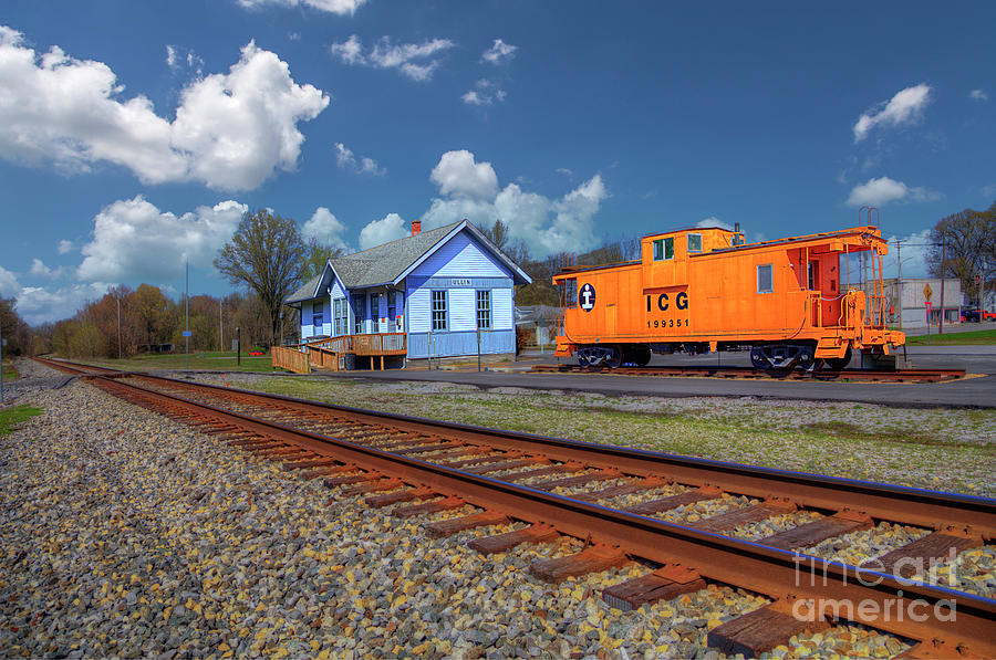 Travel Photograph - Ulin Station  by Larry Braun