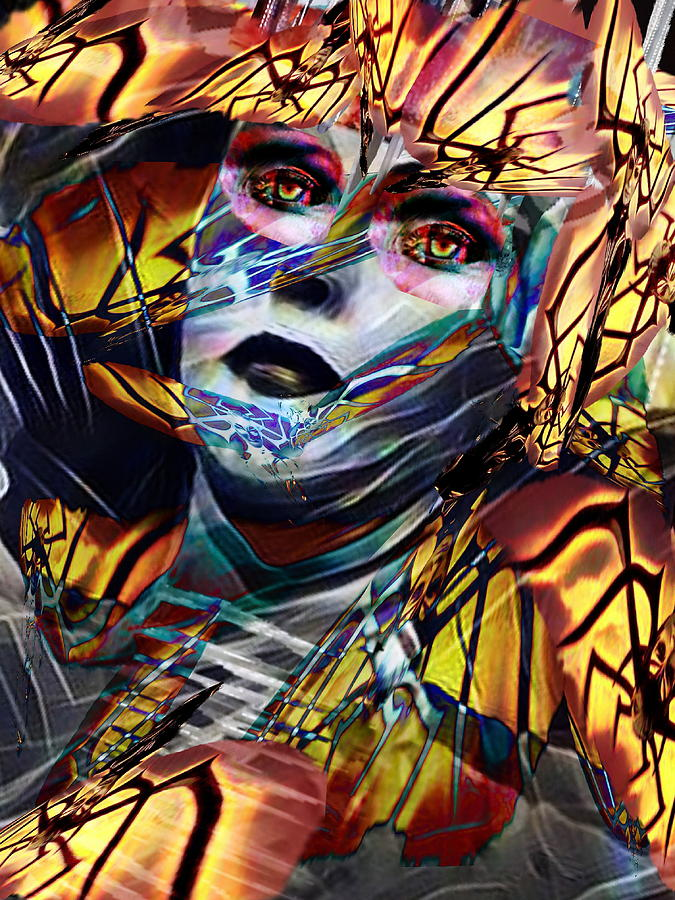 Surrealism Digital Art - Ultima Thule by Gunilla Munro Gyllenspetz