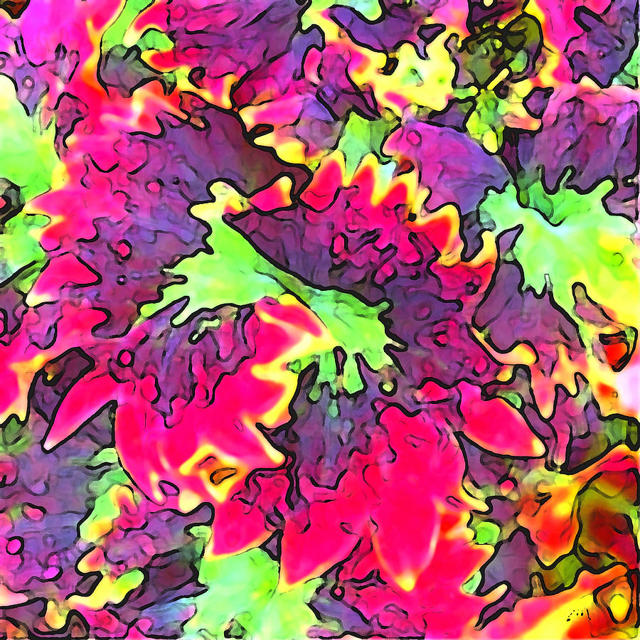 Abstract Digital Art - Ultimate Nature by Linda Mears