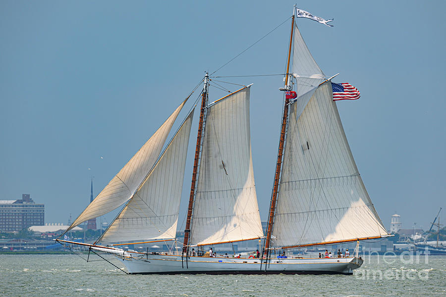Under Sail - Spirit Of Sc Photograph