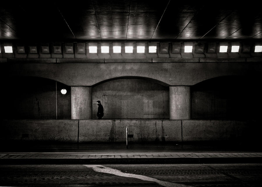 Under The Overpass No 4 Photograph
