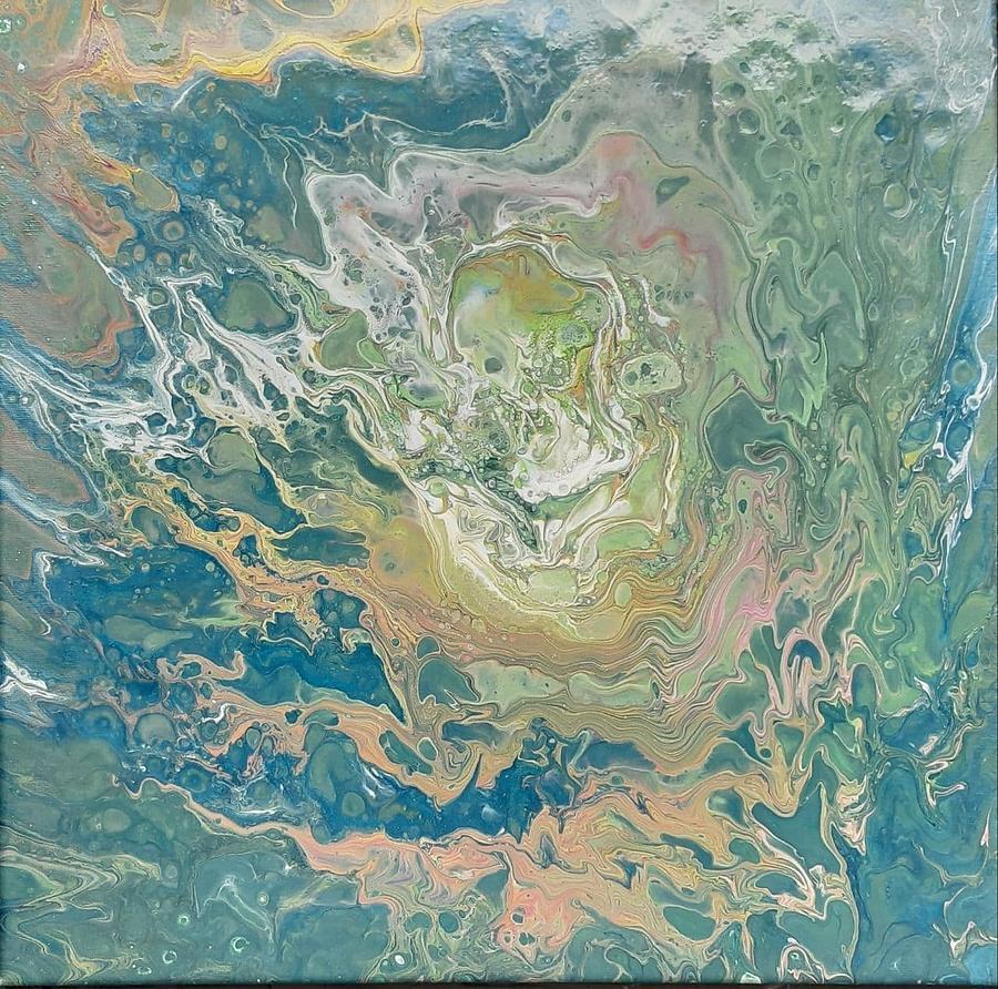 Under Water- II Painting