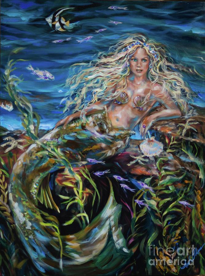 Underwater Goddess by Linda Olsen