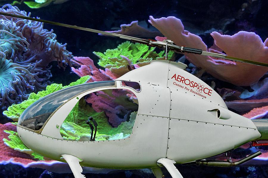 Underwater Helicopter by Margaret Zabor