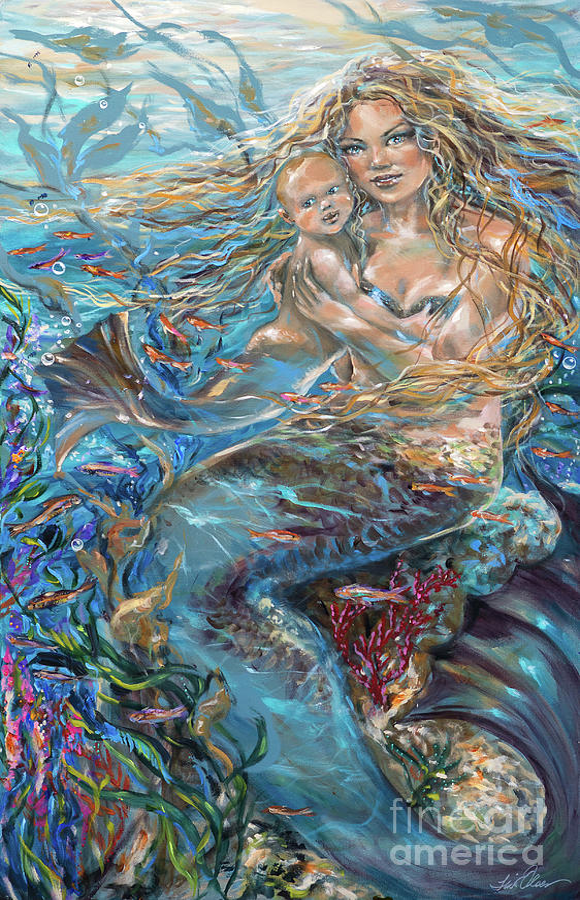 Underwater Madonna by Linda Olsen