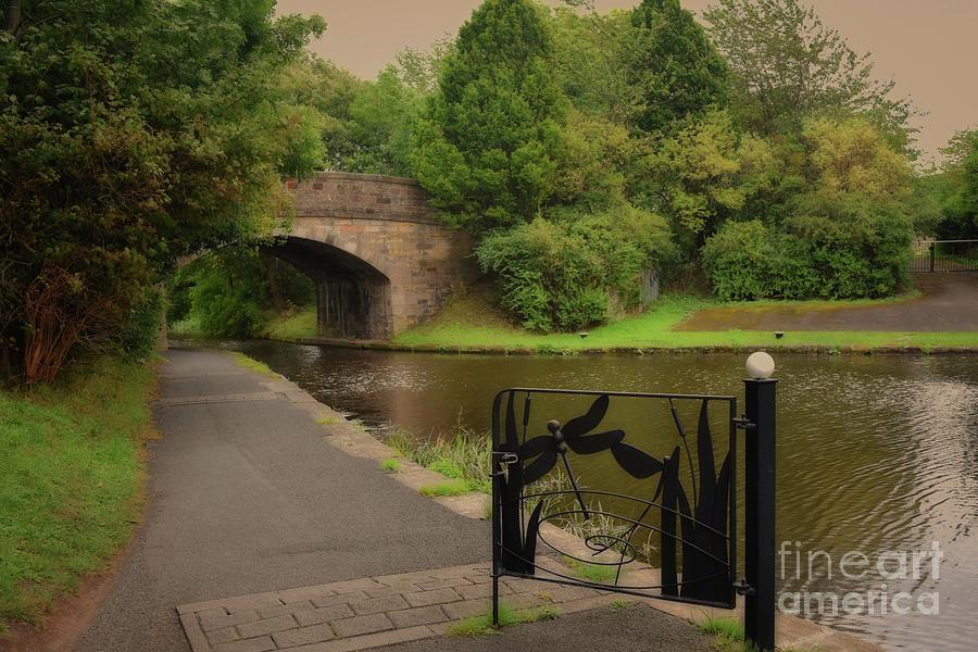 Union Canal Bridge 10 - Hermiston by Yvonne Johnstone