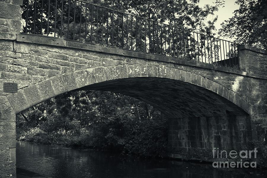 Union Canal Bridge 11 - Long Hermiston - Solitary Wave by Yvonne Johnstone