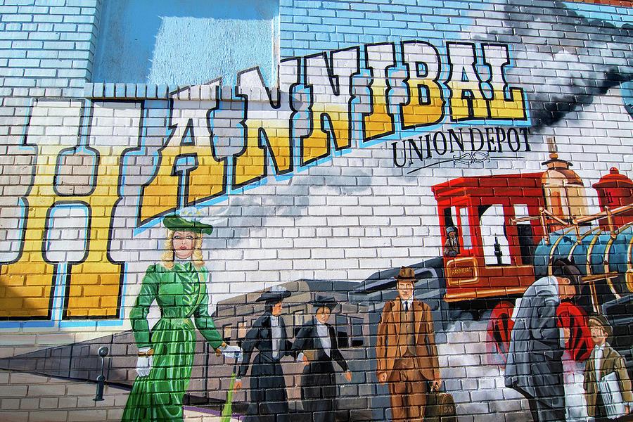 Union Depot Mural Photograph