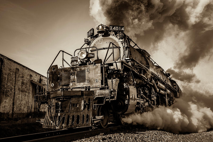Union Pacific 4014 Big Boy Photograph