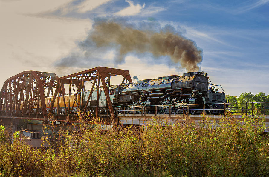 Union Pacific Big Boy 4014 Locomotive by Tim Stanley