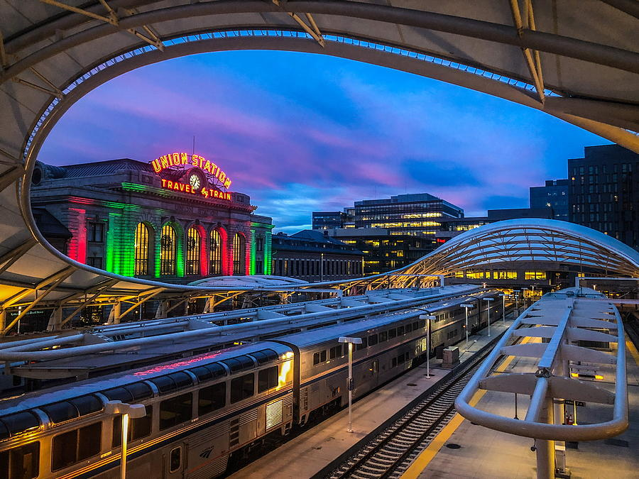Union Station at Sunrise  by Kevin Schwalbe