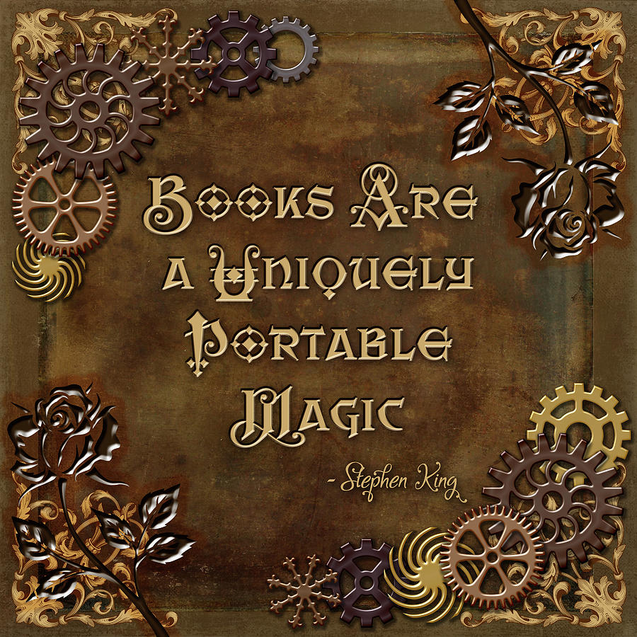 Book Digital Art - Uniquely Magical by Mary J Winters-Meyer