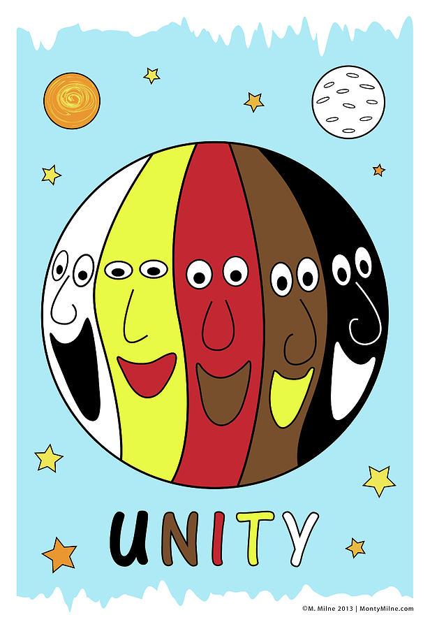 Unity Digital Art - Unity by Monty Milne