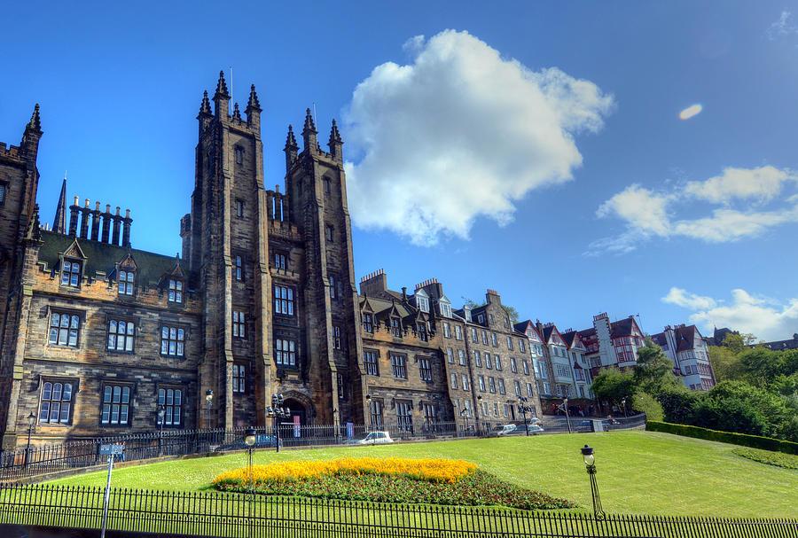 University of Edinburgh Photograph by JByard