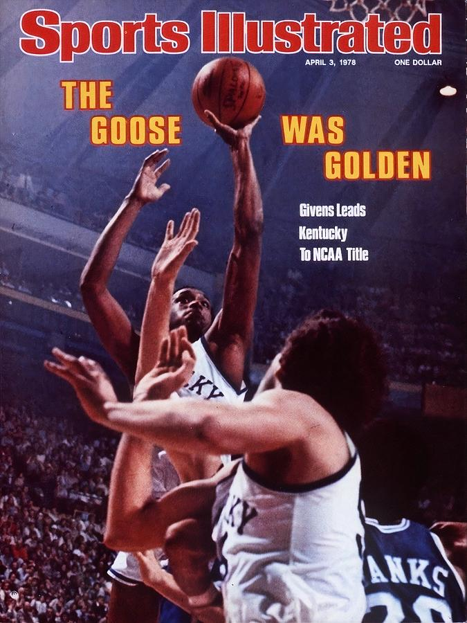 University Of Kentucky Jack Givens, 1978 Ncaa National Sports Illustrated Cover Photograph by Sports Illustrated