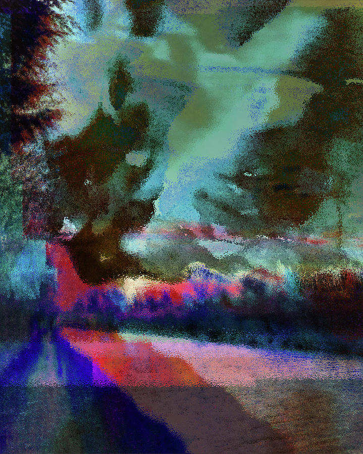 Semi Abstract Photograph - Unreal Colorful Landscape by Itsonlythemoon