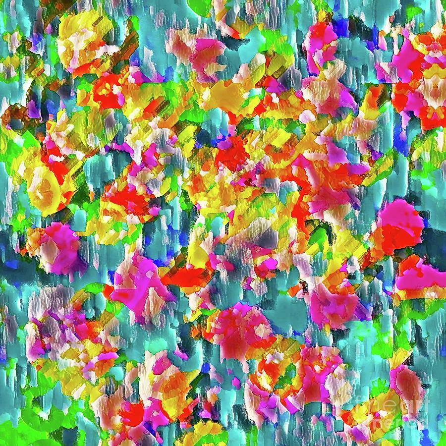 Abstract Digital Art - Until Spring Returns by Rachel Hannah