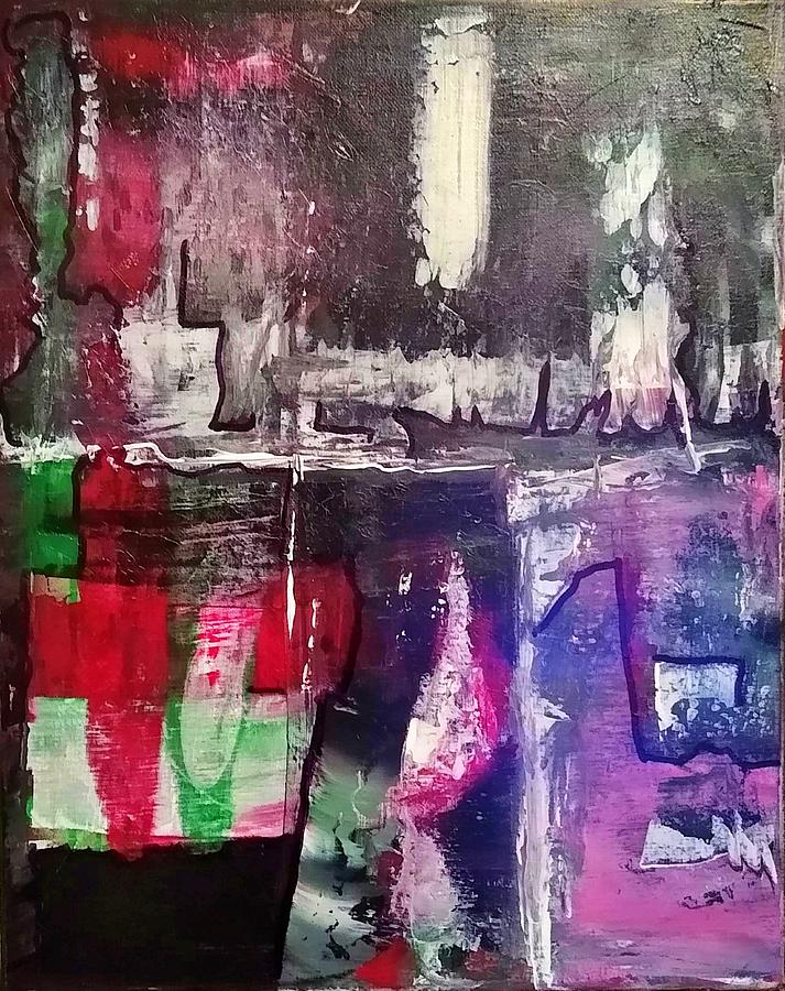 Untitled # 1.13 Painting by Dzozef Bosch