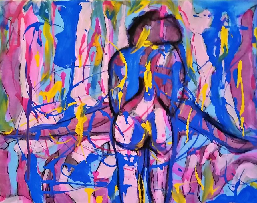 Untitled # 1.14 Painting by Dzozef Bosch