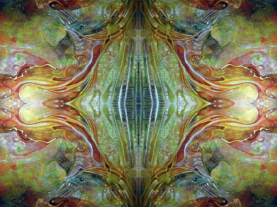 Untitled Abstract Colors Mirror 3 Digital Art