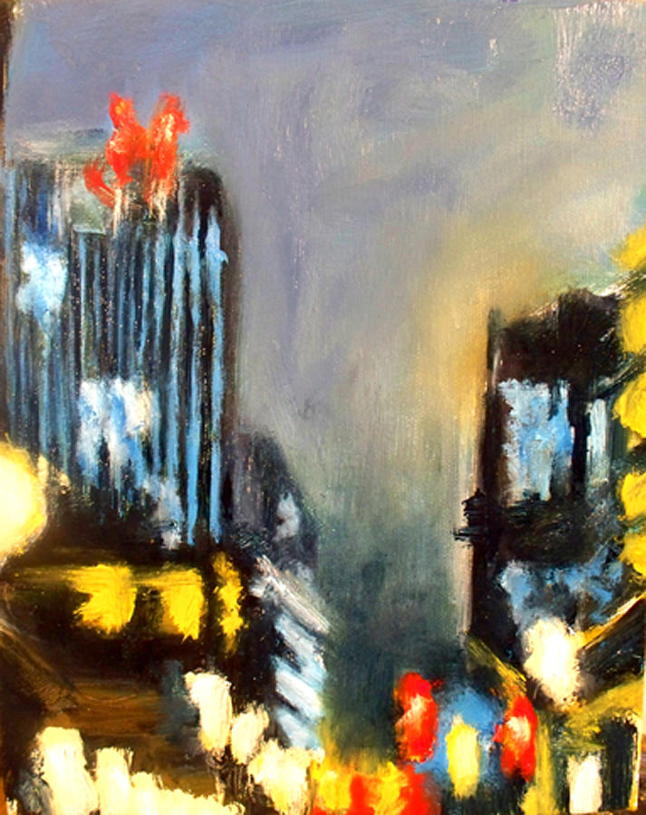 Untitled II - Des Moines Painting by Robert Reeves
