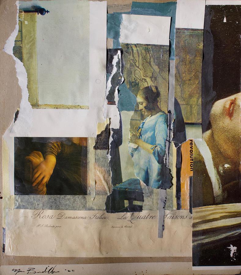 Collage Mixed Media - Untitled by Noe Badillo