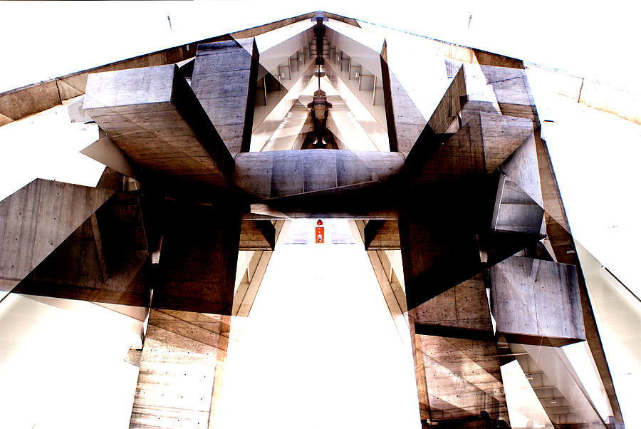 Abstract Photograph - Urban temples 1 by Oscar Vago