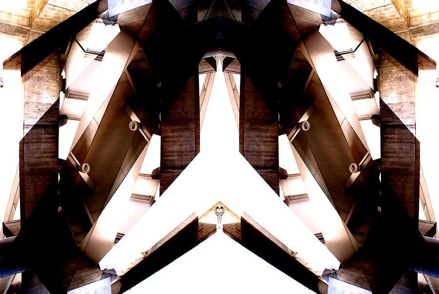 Abstract Photograph - Urban temples 2 by Oscar Vago