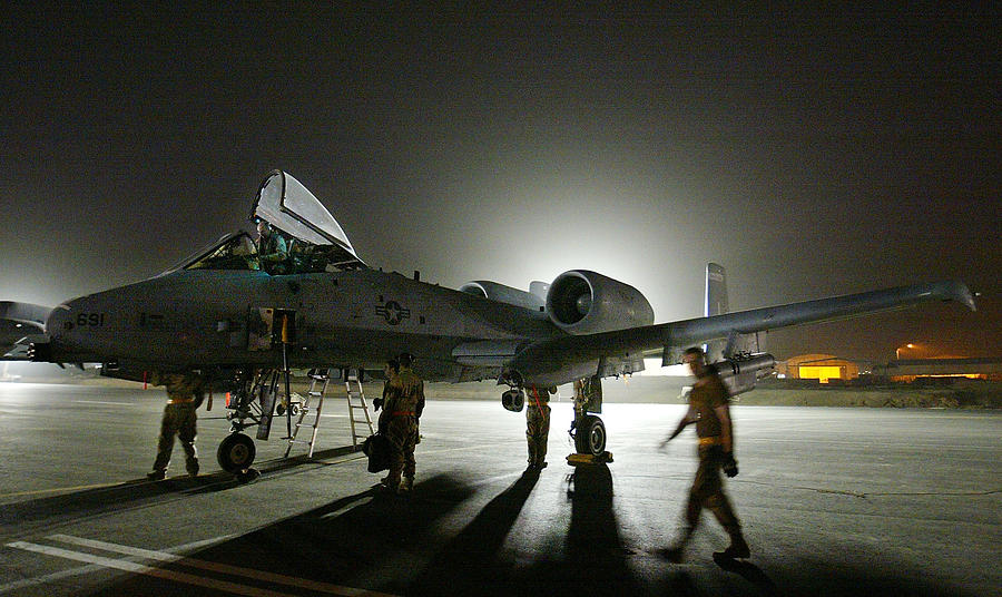 U.S. Air Force Prepares For Strikes Against Iraq Photograph by Paula Bronstein