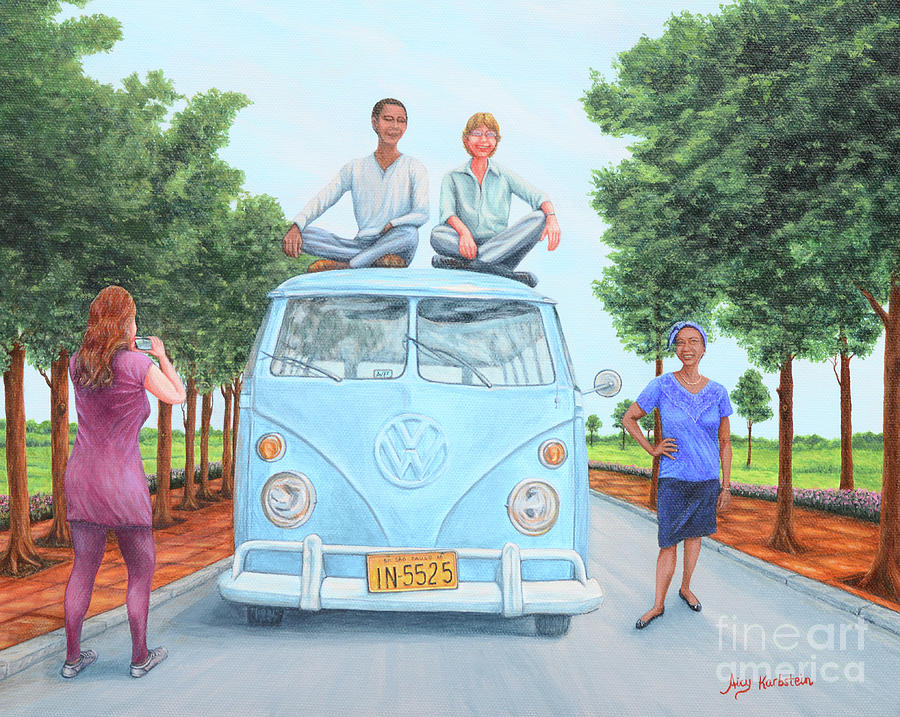 Us And The Kombi Painting