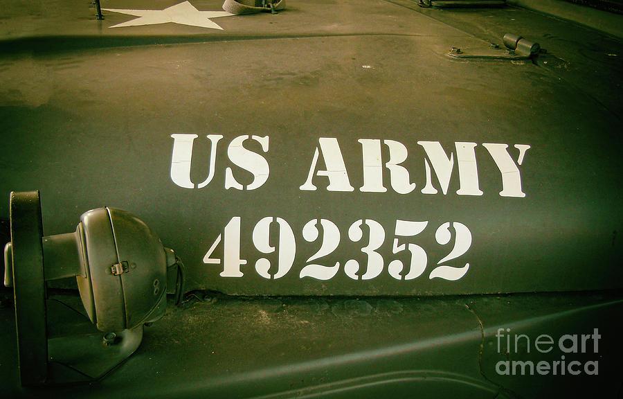 Us Army - Jeep - World War II Photograph
