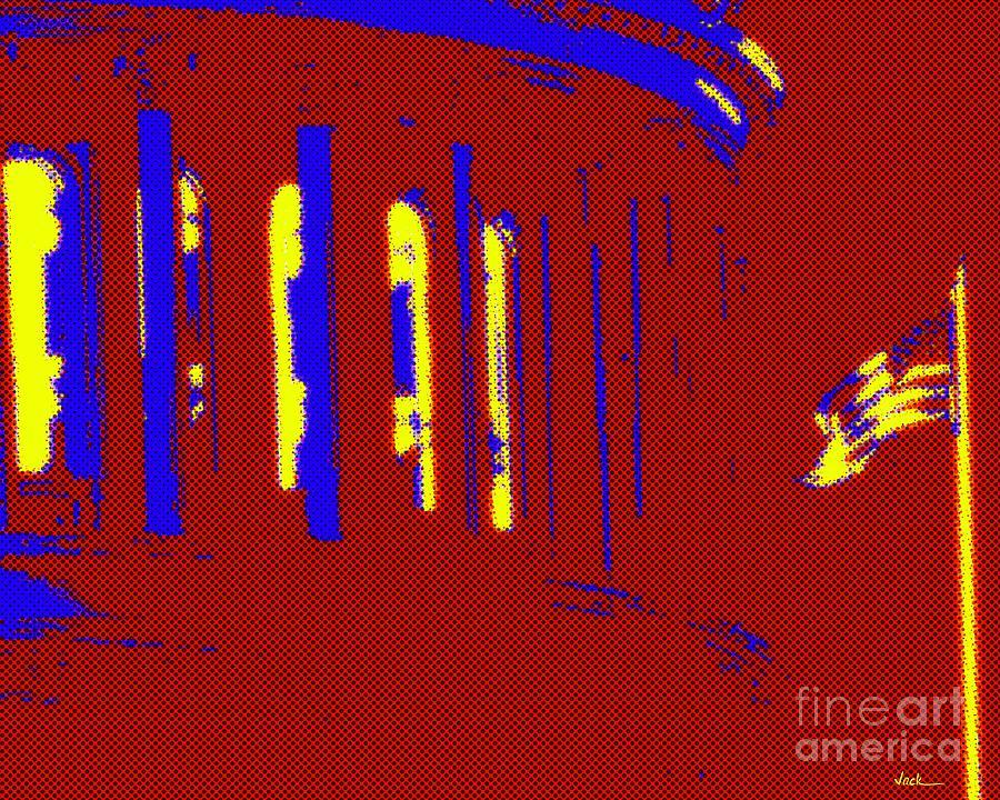 Capitol Painting - US Capitol 2020 by Jack Bunds