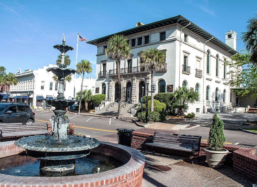 Us Post Office - Fernandina Beach Photograph