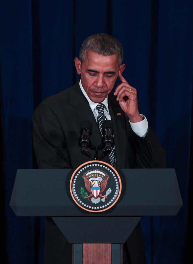 US President Barack Obama Visits Malaysia Photograph by Mohd Samsul Mohd Said