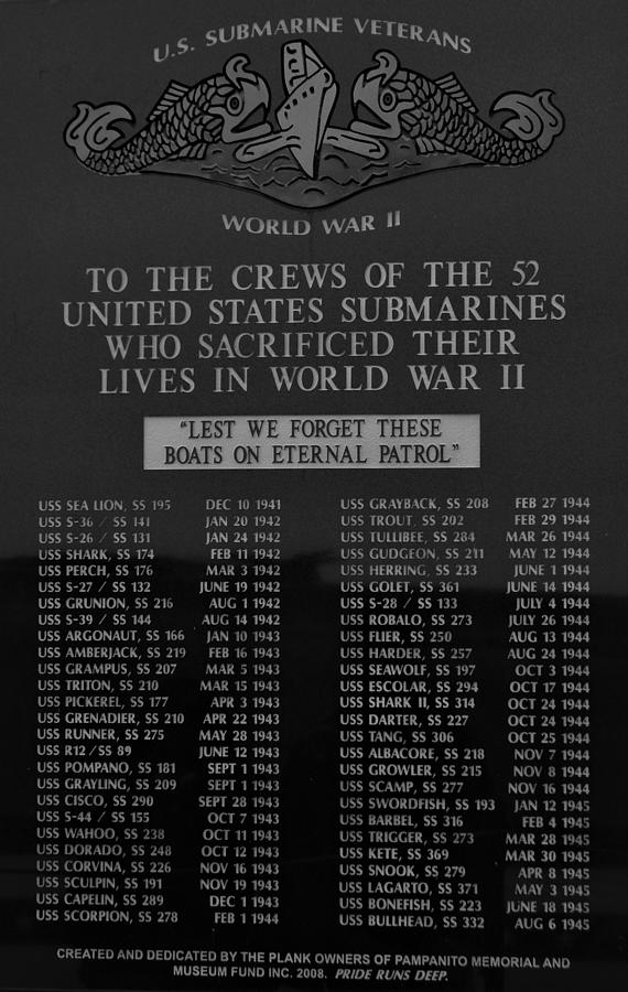 U.S. Submarine Veterans by Warren Thompson