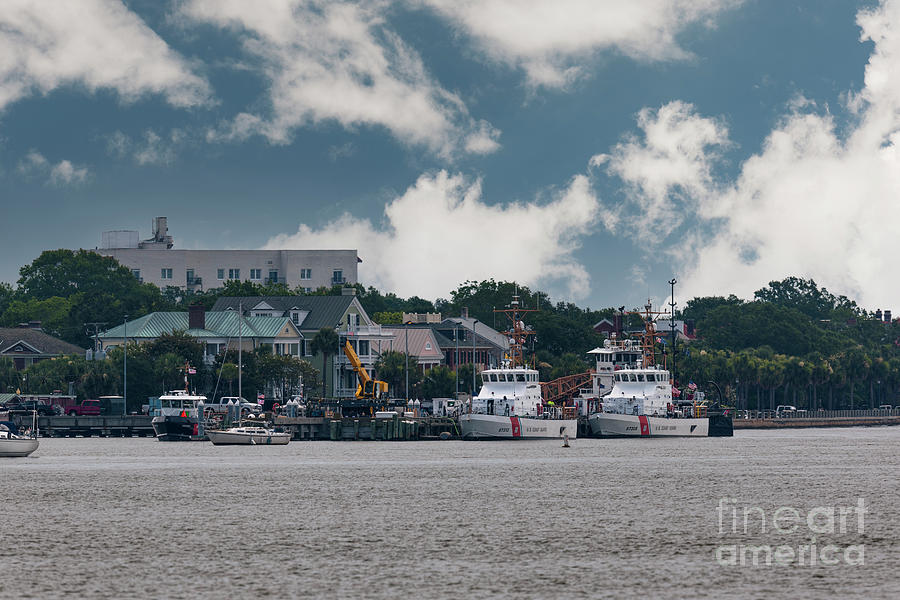 Uscg Base Charleston South Carolina Photograph