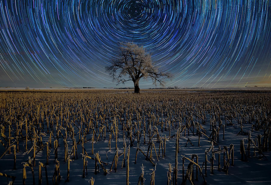 Star Trails Photograph - Use Of Time  by Aaron J Groen