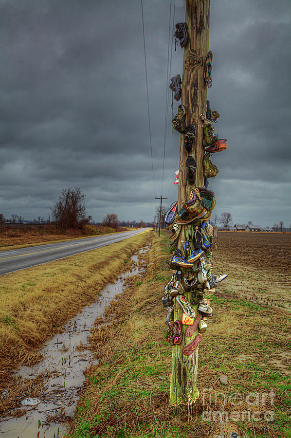 Used Shoe Pole by Larry Braun