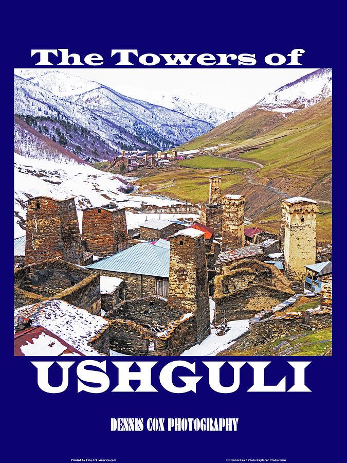 Ushguli Travel Poster Photograph