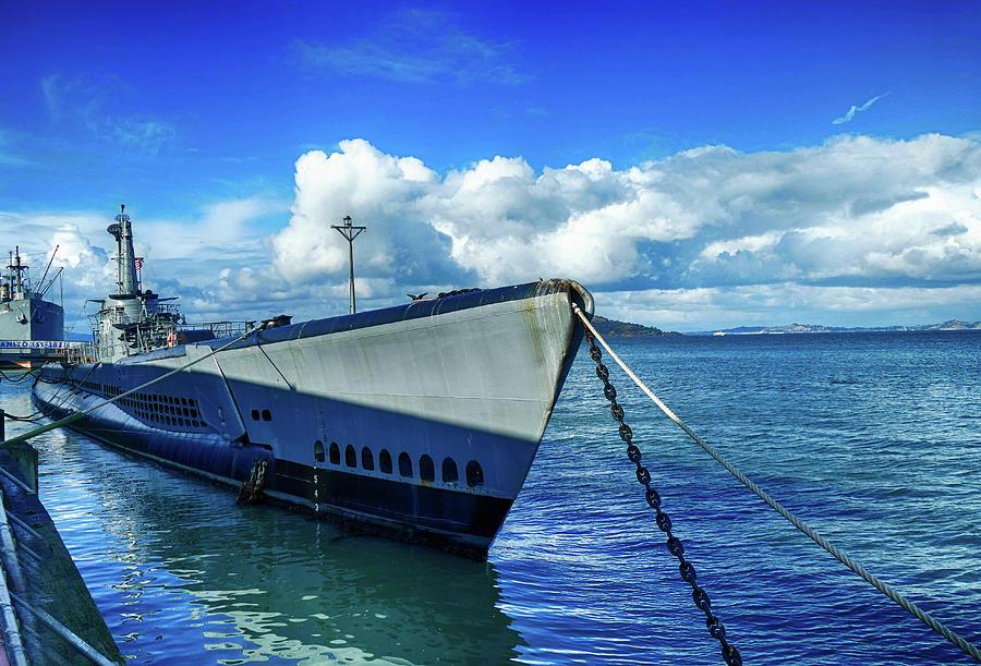 USS Pampanito SS-383 World War II submarine by Steve Estvanik