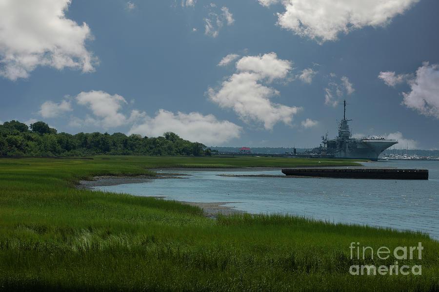 Uss Yorktown - Named After The Battle Of Yorktown Of The American Revolutionary War Photograph