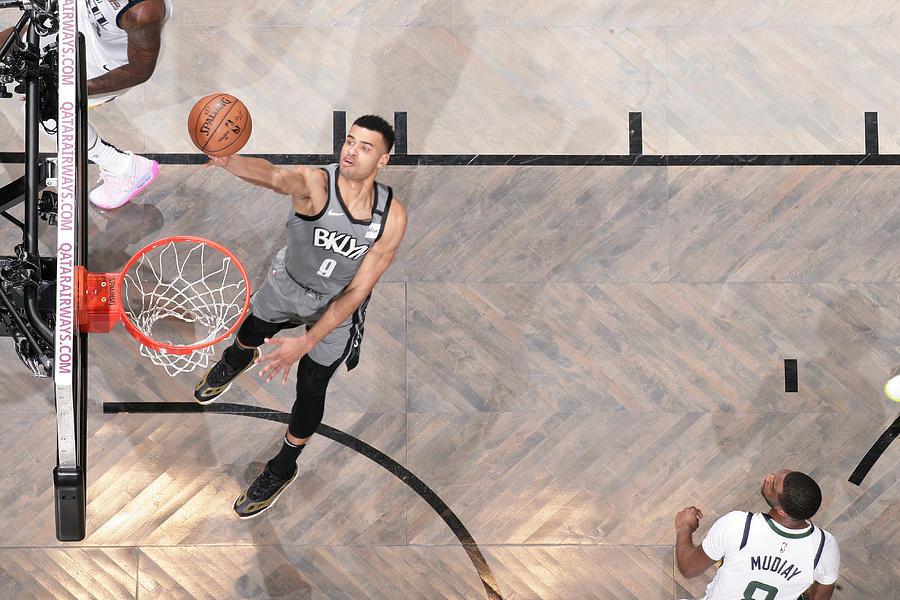 Utah Jazz v Brooklyn Nets Photograph by Nathaniel S. Butler