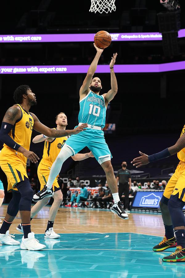 Utah Jazz v Charlotte Hornets Photograph by Brock Williams-Smith