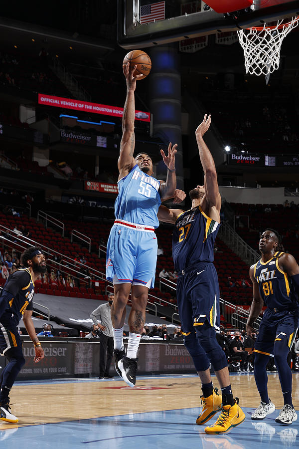 Utah Jazz v Houston Rockets Photograph by Robert Seale