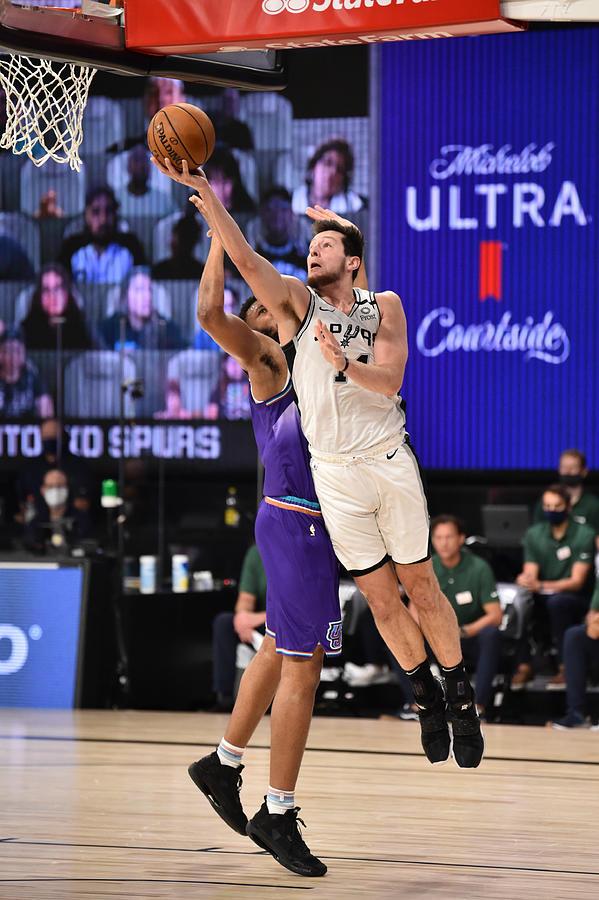 Utah Jazz v San Antonio Spurs Photograph by David Dow