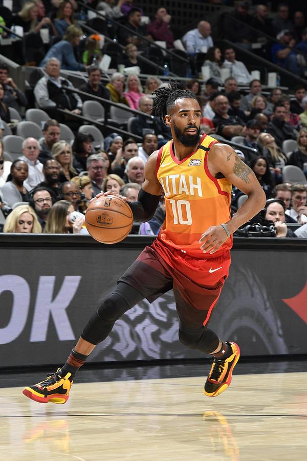 Utah Jazz v San Antonio Spurs Photograph by Logan Riely